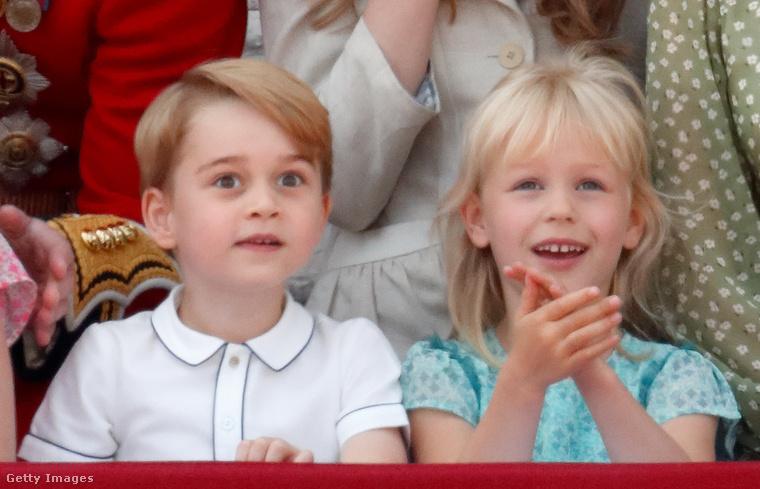De így is volt néhány nagy pillanata György hercegnek egyedül is,