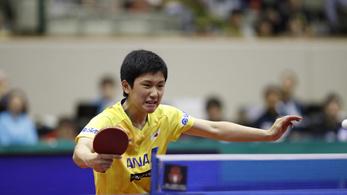 A kiabáló tini két olimpiai bajnok legyőzésével nyert pingpongtornát