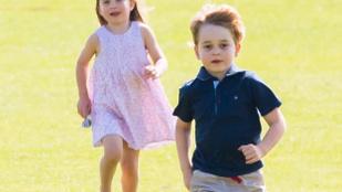 Elképesztően jó fotók készültek György hercegről és Sarolta hercegnőről a hétvégén