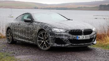 Menetpróba: BMW M850i xDrive prototípus - 2019.