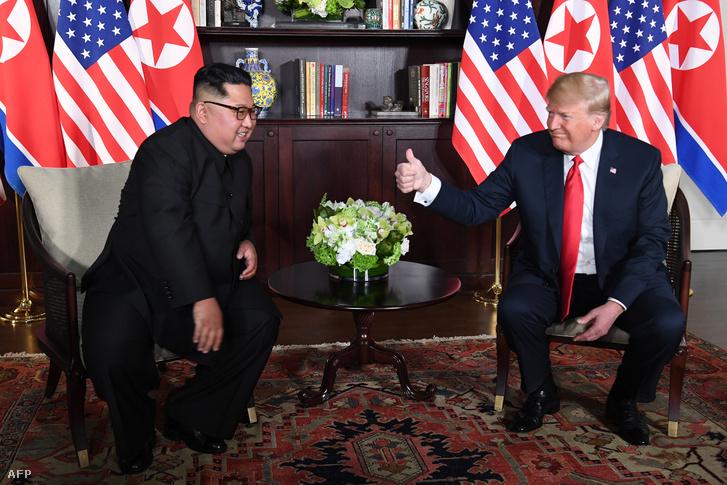 Trump rögtön a találkozó elején azt nyilatkozta, sikereket fog elérni.