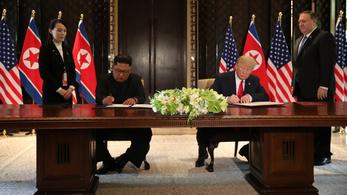 Erről állapodott meg Trump és Kim Dzsongun