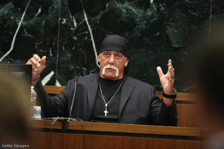 Hulk Hogan a Hogan-per tárgyalásán 2016-ban