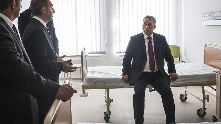Orbán Viktor beelőzte a betegeket egy fővárosi szakrendelőben
