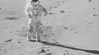 Felmelegítették a Holdat az amerikai űrhajósok