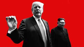 Trump vs. Kim két percben