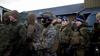 Még több amerikai katonát kér Norvégia az oroszok ellen