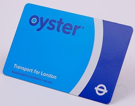 A londoni minta, az Oyster card