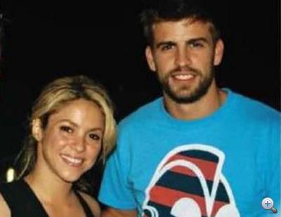 Shakira és Gerard Piqué