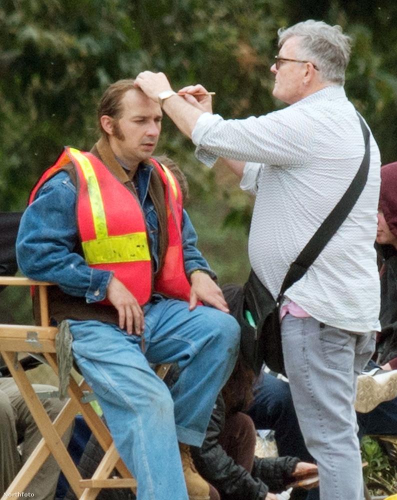 És így néz ki munka, azaz forgatás közben Shia LeBeouf 32 éves színész, aki most a saját apját alakítja egy új filmben.
