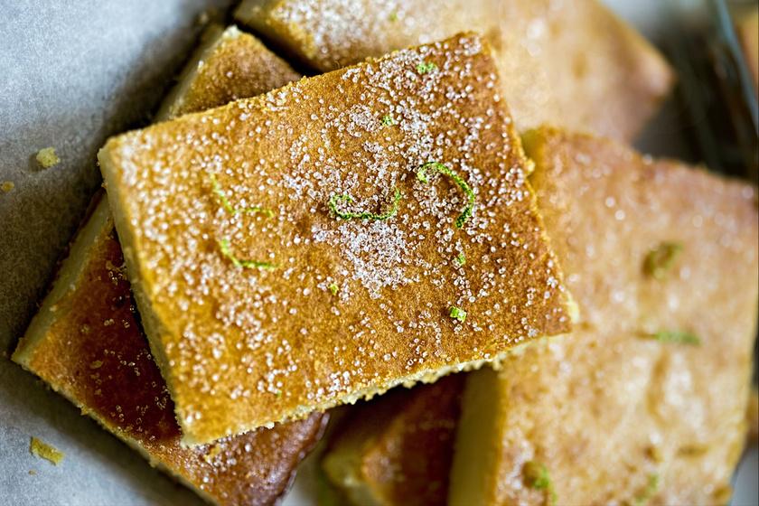 Szuperegyszerű, joghurtos süti olívaolajjal és lime-mal: mennyei újdonság