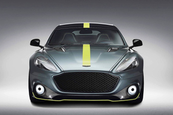 Stílusosan búcsúzik a négyajtós Aston Martin