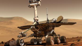 Elnémult az Opportunity a Marson tomboló vihar miatt