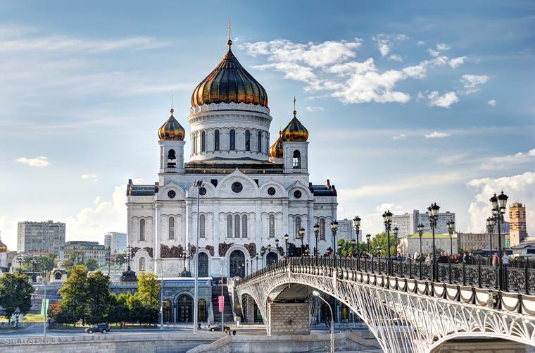 Moszkvában nincs hiány a hagymakupolás katedrálisokból