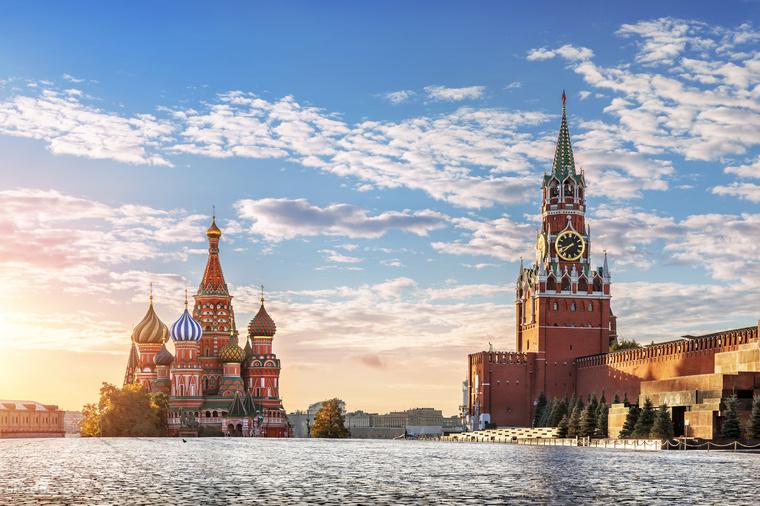A Vörös tér Moszkva leglátogatottabb turistacélpontja