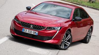 Menetpróba: Peugeot 508 – 2018.