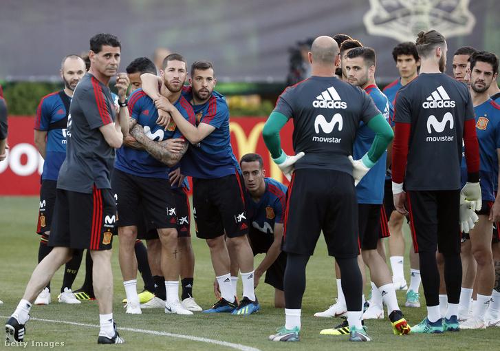 Hierro az első edzésen új csapatával