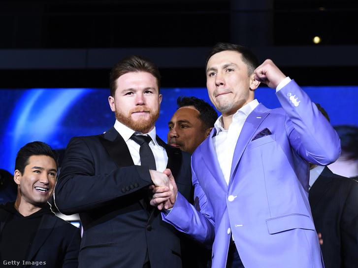 Saúl Canelo Álvarez és Gennagyij Golovkin