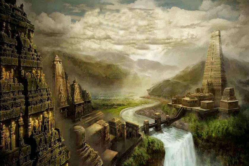 Tűzgömb pusztította el a várost, ma a tenger lepi el romjait: Dvárka 10 ezer éve virágzott