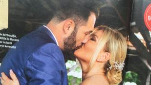 Ilyen volt Liptai Claudia álomesküvője