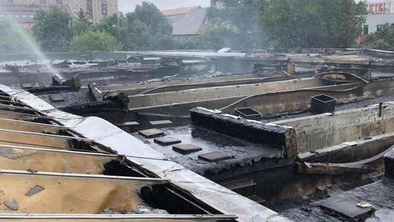 Sósavszagra riadhattak az angyalföldi tűz után a lakók
