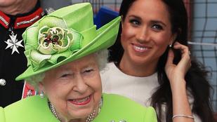 Nézze, milyen jól szórakozik együtt Meghan hercegné és a királynő!