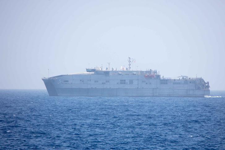 A USS Trenton a Földközi-tengeren