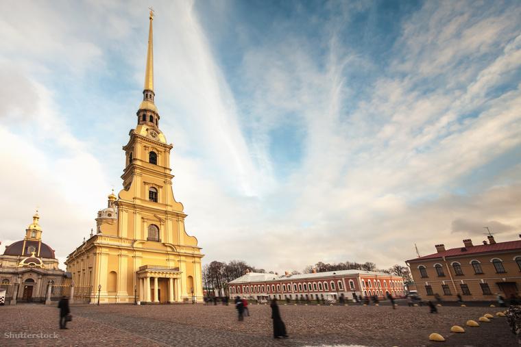 A Péter-Pál erődöt azon a helyen építették, ahol Szentpétervárt megalapították