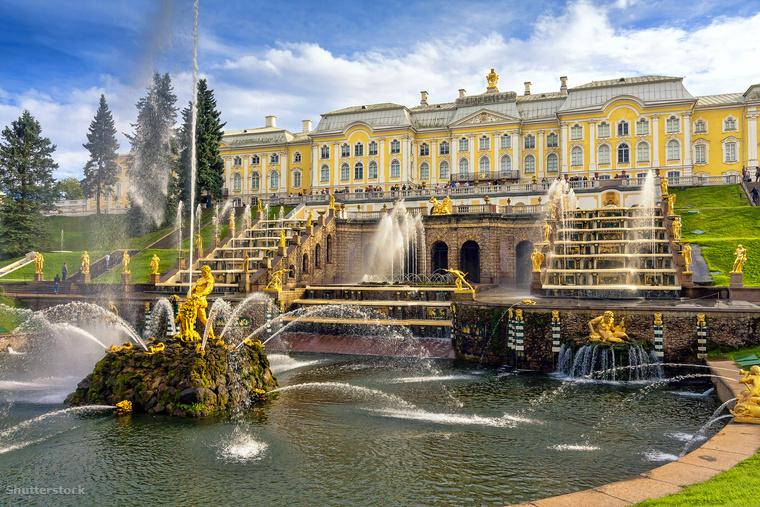 A Peterhof palotát I