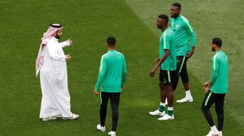 Sok volt a sejknek Putyin kézfogása: büntetik a szaúdi játékosokat a 0-5-ért