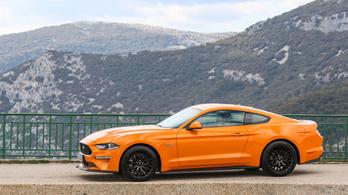 Teszt: Ford Mustang GT 5.0 - 2018.