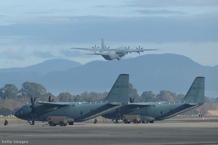 C-130 Hercules repülőgépek