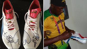 Felbecsülhetetlen értékű Bolt-cipőket loptak el Angliában