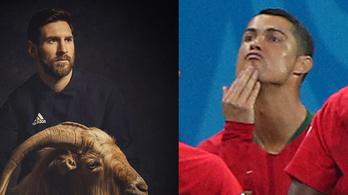 Ronaldo Messinek üzent az állsimogatással?