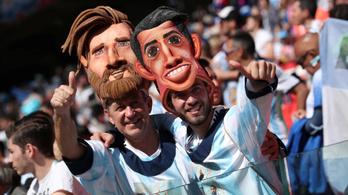 Az Argentína–Izland világbajnoki csoportmeccs közvetítése percről percre