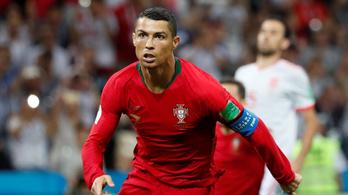 Ronaldo szupersprintjéről gyanúsan nagy számok terjednek