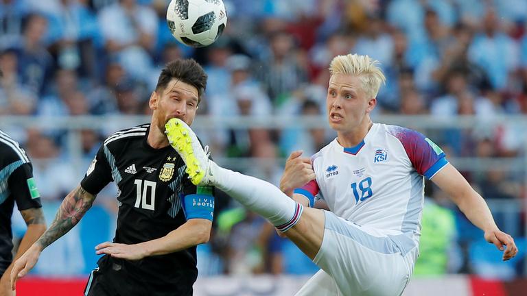 Izland elrontotta Argentína vb-rajtját, Messi 11-est hibázott