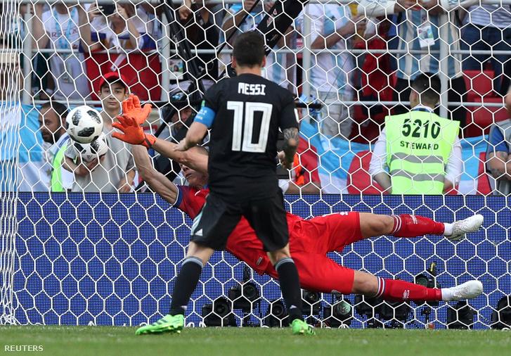 Olyan volt Messi 11-esét kivédeni, mint egy álom