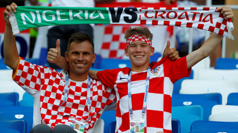 Horvátország kiszenvedte, 2-0-ra verte Nigériát