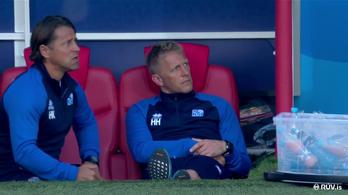 Zseniálisan reagált az izlandi kapitány arra, hogy megfogták Messi tizenegyesét