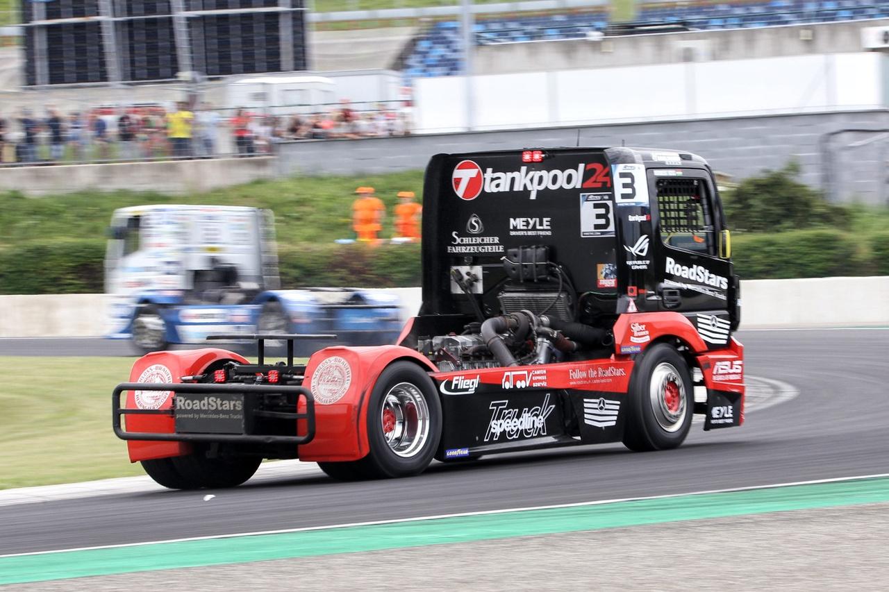 Norbi hiába űzte, hajtotta Hahn-t, a négyszeres ETRC bajnok német első helye egy pillanatig sem forgott veszélyben