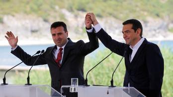 Görögország és Macedónia aláírta a megállapodást a névvita rendezéséről