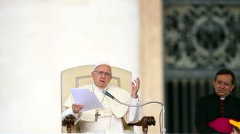 Ferenc pápa: Az abortusz olyan, mint a náci fajnemesítés
