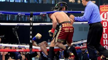 A ringből kiesve eljátszotta a nagy halált, megúszta a vereséget