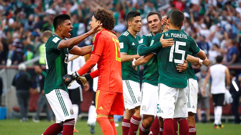 Itt a vb meglepetése: Mexikó megverte a címvédő németeket