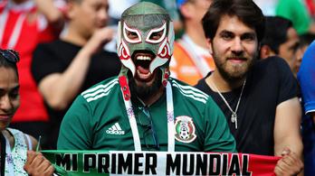 Mexikó tombolt, rengett a föld a győztes gól pillanatában