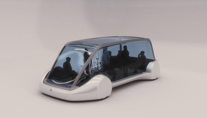 A Tesla Model X alapjaira építenék a 16 személyes minibuszokat