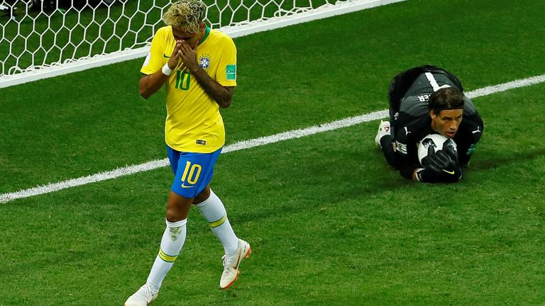 Brazília leállt, Svájc megfogta