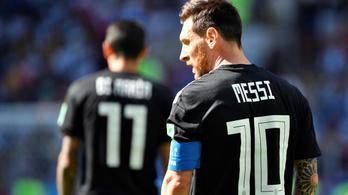 Messi Argentína legkisebb gondja