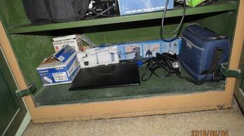 Lenyúlta a laptopot a komáromi iskolából